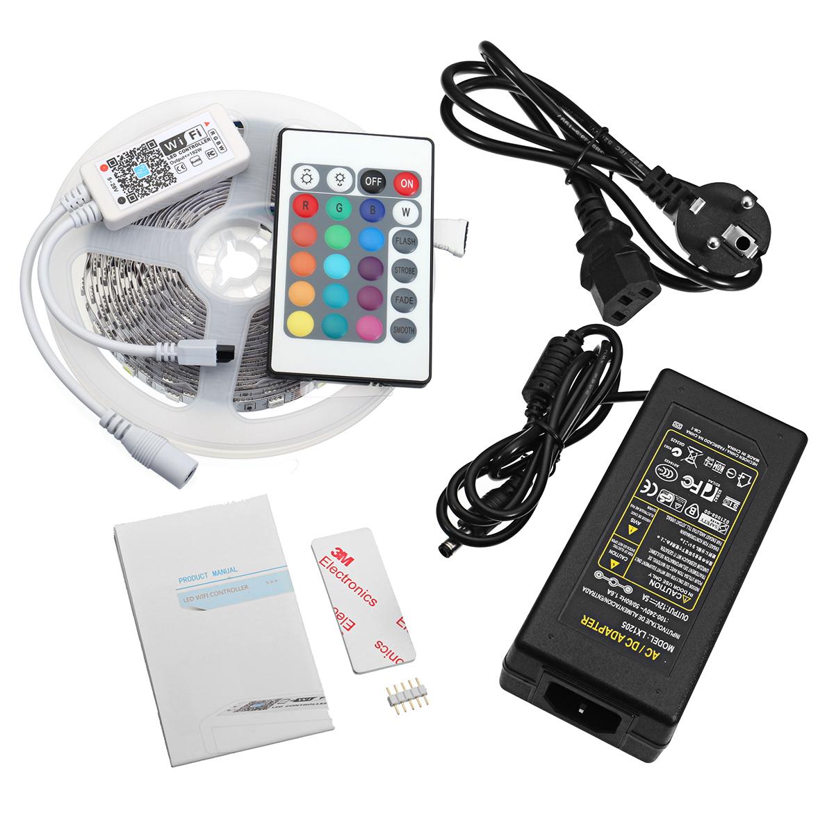 Bộ Điều Khiển Điện Thoại Thông Minh Alexa Alex 550 Smd5050 Rgbw Không Chống Nước
