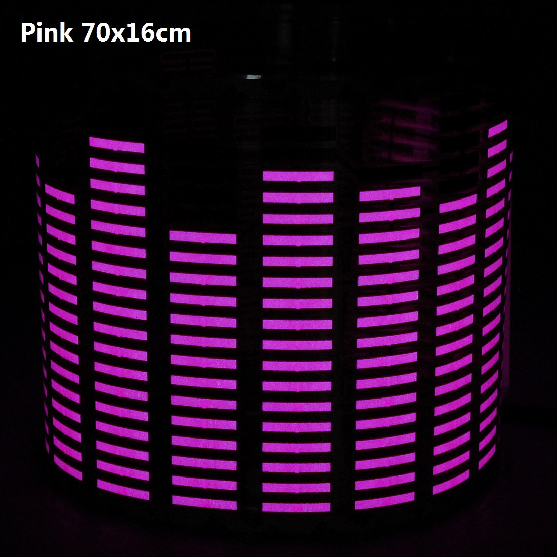 Stickers Sound Music Activated Sensor Light Equalizer Glow Modification Car Decoration Lights
