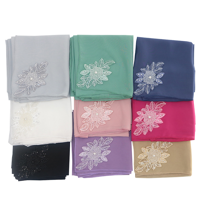 Women Lace Chiffon Headband Scarf Arabian Hat