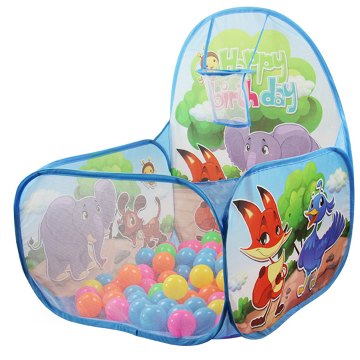 60CM Baby Toys Tent Ocean Plastic Ball Pool Camping Ind