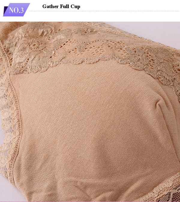 Wireless Soft Lace Thin Breathable Sleeping Bras