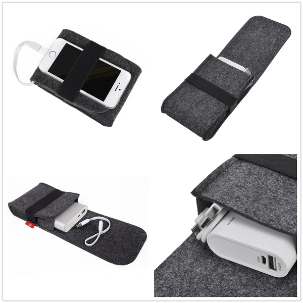 Power Bank Mouse Usb Cable Digital Accessories Felt Sto