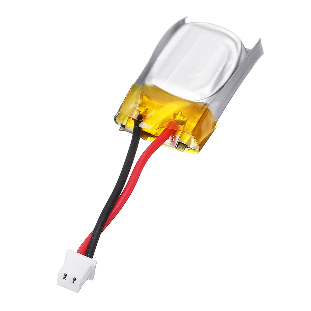 1S 3.7V 50mAh Mini LiPo Battery Molex 2P 1.25mm Connector 1cm 4g For Tygzs M1 RC Airplane