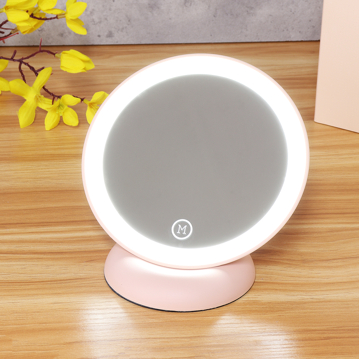 LED Makeup Mirrors Magnet Wall Mounted