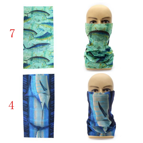 Multi-function Face Mask Scarf Headbrand Neck Protector for Fishing Cycling
