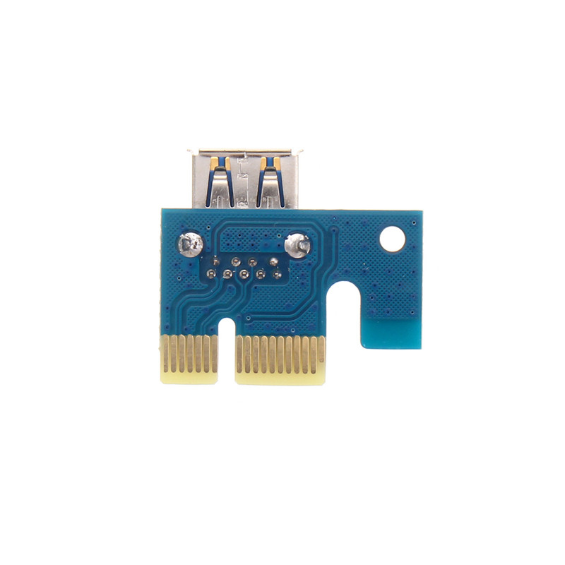6Pin USB 3.0 PCI Express 1X TO 16X Extender Riser Board Card Adapter Cable