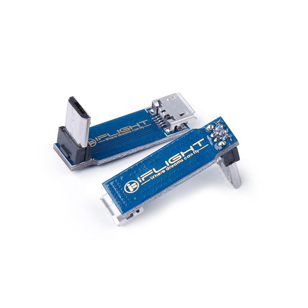 L Typ Micro USB Transfer Extension Module Kabel Kvinna till Man för RC Drone FPV Racing - Photo: 2