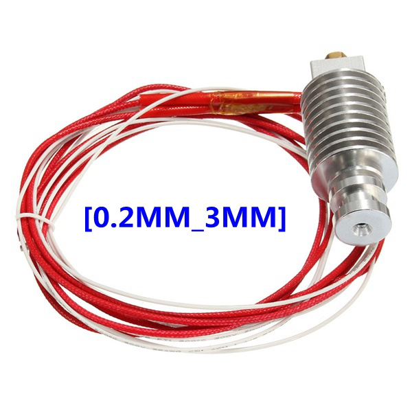 1Pc All Metal J-head Hotend Extruder For 1.75mm Filament RepRap 3D Printer Accessories