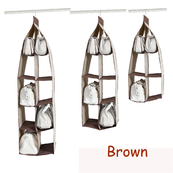 Oxford Storage Bags Hangings Wardrobe Closet Storage Bag