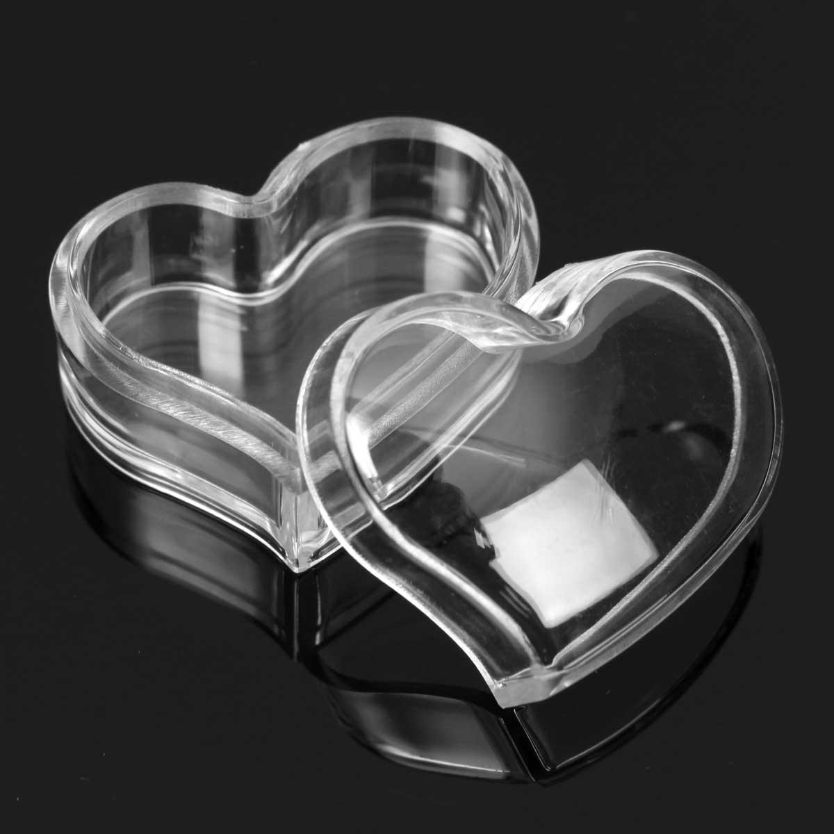 Empty Transparent Jar Pot Cream Box Makeup Face Cream Lip Balm Container