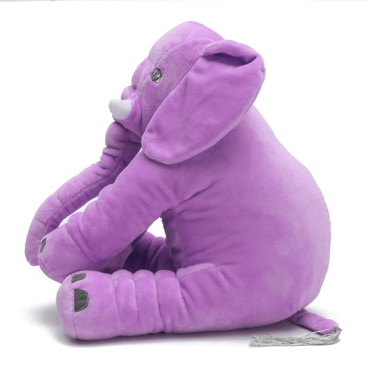 Baby Children/Kids Soft Plush Elephant Sleep Pillow Kids Lumbar Cushion Toys New