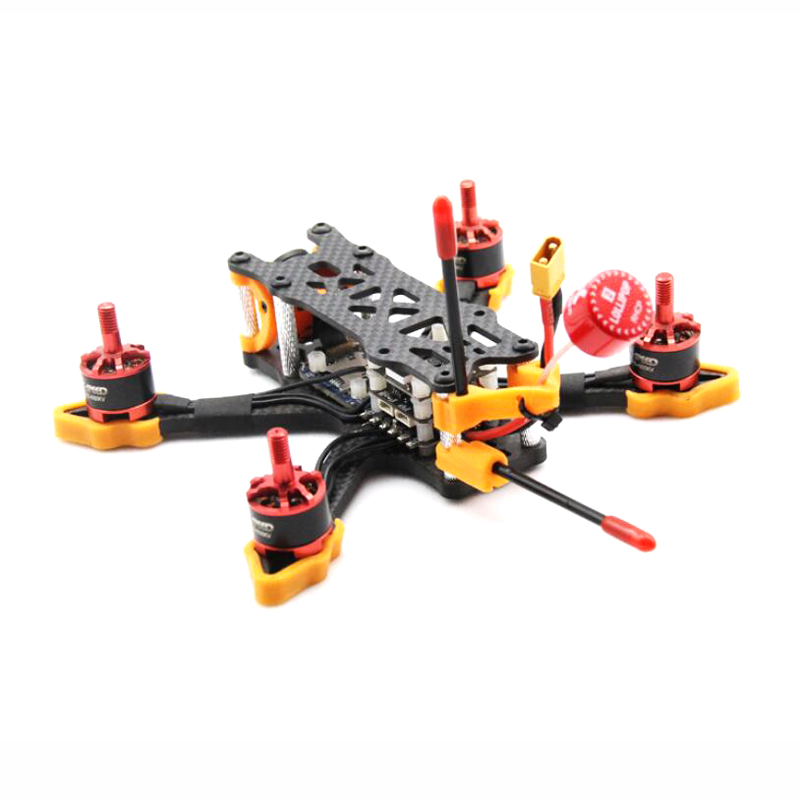 ZJWRC 140mm Wheelbase 3 Inch 4mm Arm Carbon Fiber FPV Racing Frame Kit for RC Drone - Photo: 5