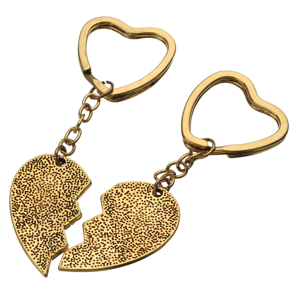 Love Heart Keychain, Best Bitches Keychain