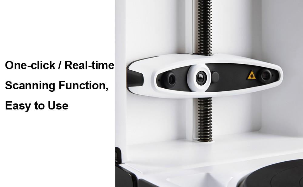 Matter and Form Folding 3D Scanner High Resolution with CMOS Sensor