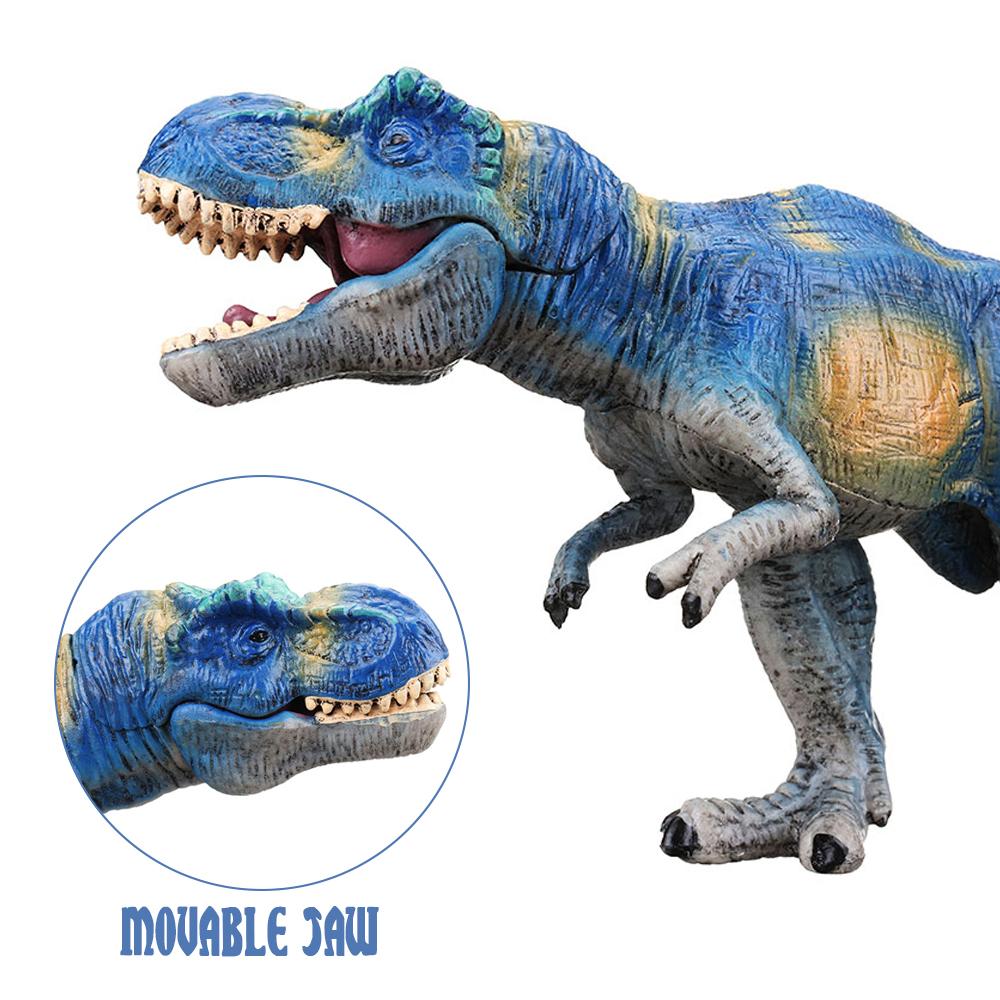 Jurassic T-Rex Tyrannosaurus Rex Dinosaur Toy Diecast Model Collector Decor Kids Gift