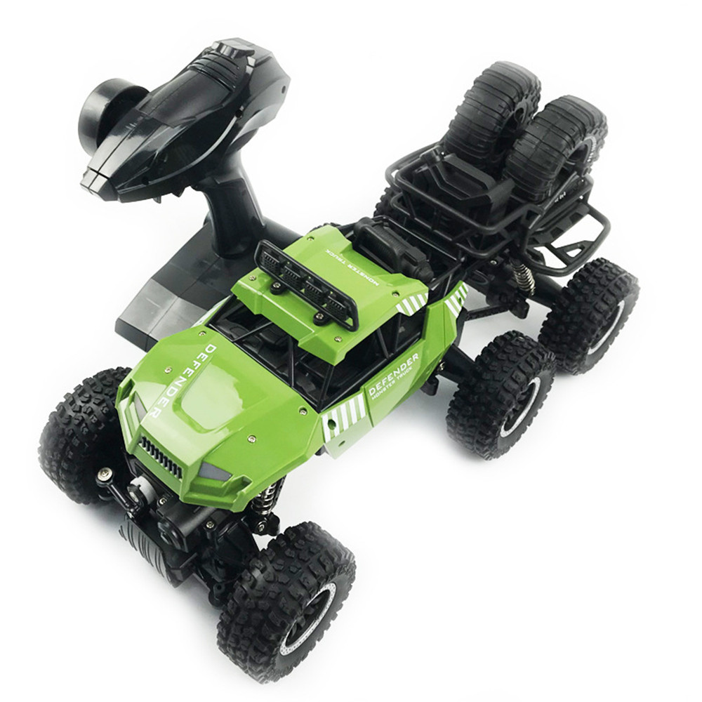 SuLong Toys SL-3339 1/14 2.4G 6WD 20km/h Rc Car Off-Road Pick-up Truck RTR Toy - Photo: 8