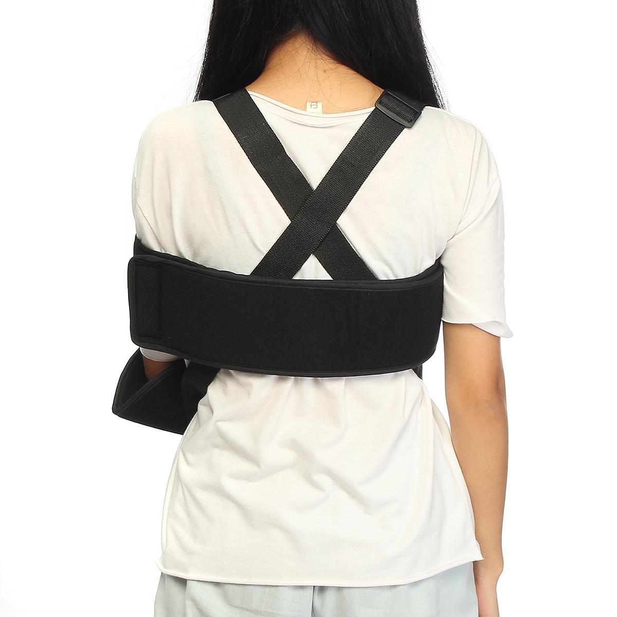 Adjustable Medical Arm Shoulder Holding Brace Elbow Support Wrap Strap Belt