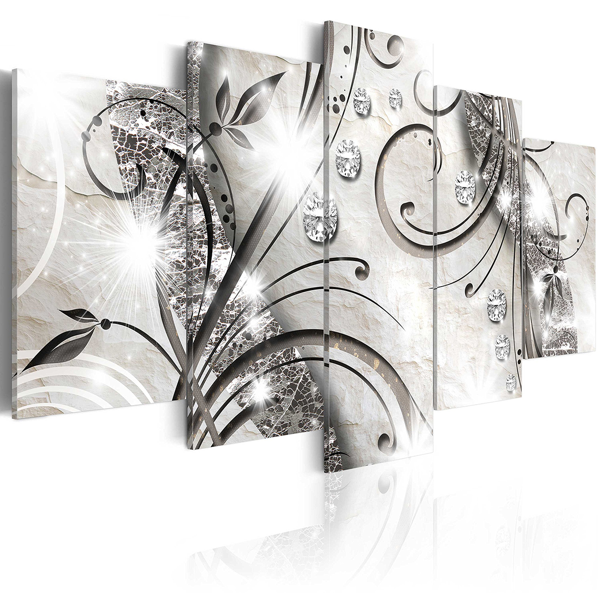 5 Panels Wall Art Print Pictures Canvas Wall Art Paintings Unframed For Home Decorations