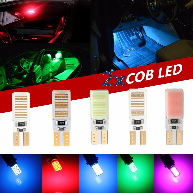 COB Canbus Error Free 5W T10 921 For Benz BMW High Power LED White