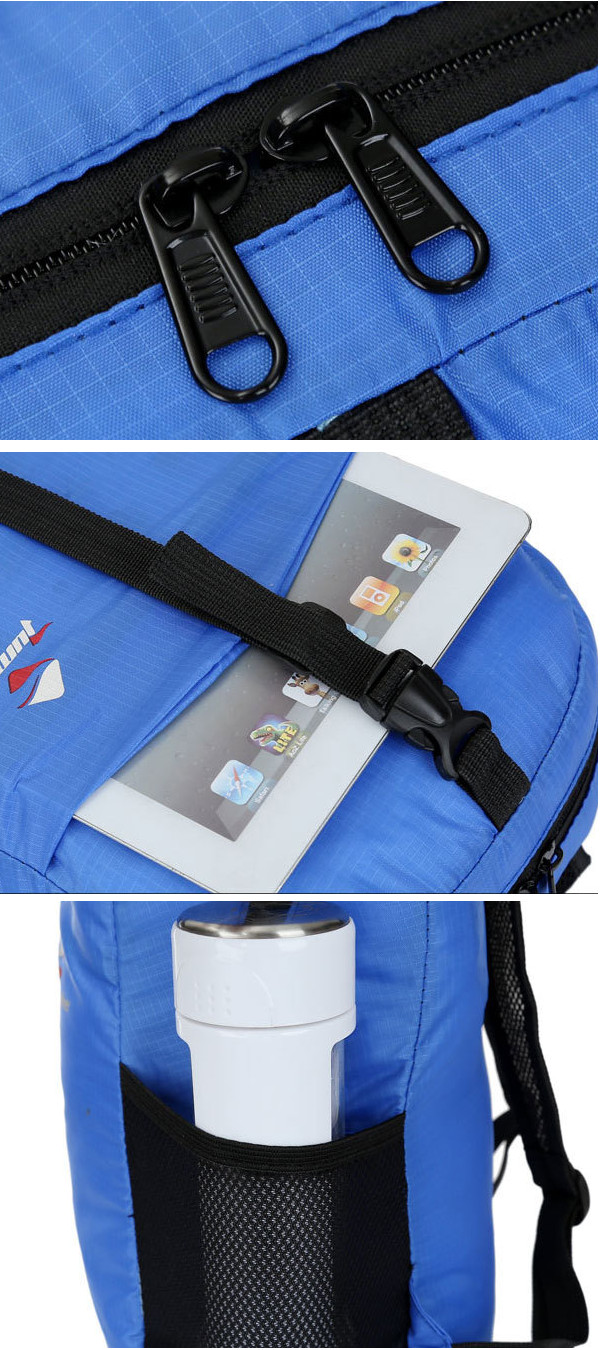 Light Weight Waterproof Foldable Backpack Packable Shoulderbags Outdooors Sports Hiking Bags