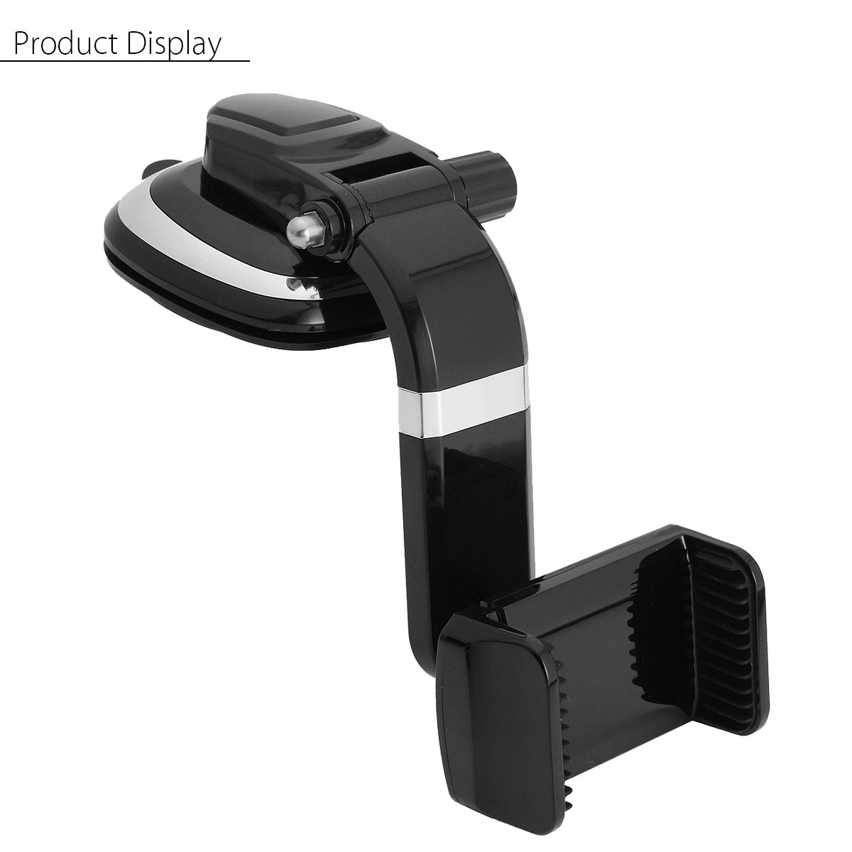 90° Rotation Car Wind Shield Dashboard Sucker Cup Phone Stand Mount Holder For Smartphone