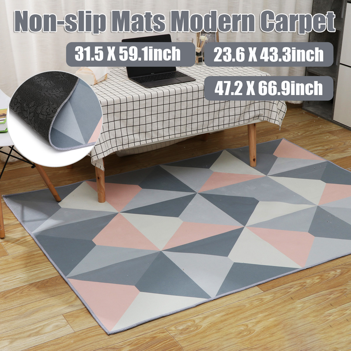 Multi Size Printing Carpet Anti-slip Living Room Carpet Floor Mat Doormats Home Runner Rug for Bedroom Indoor Outdoor