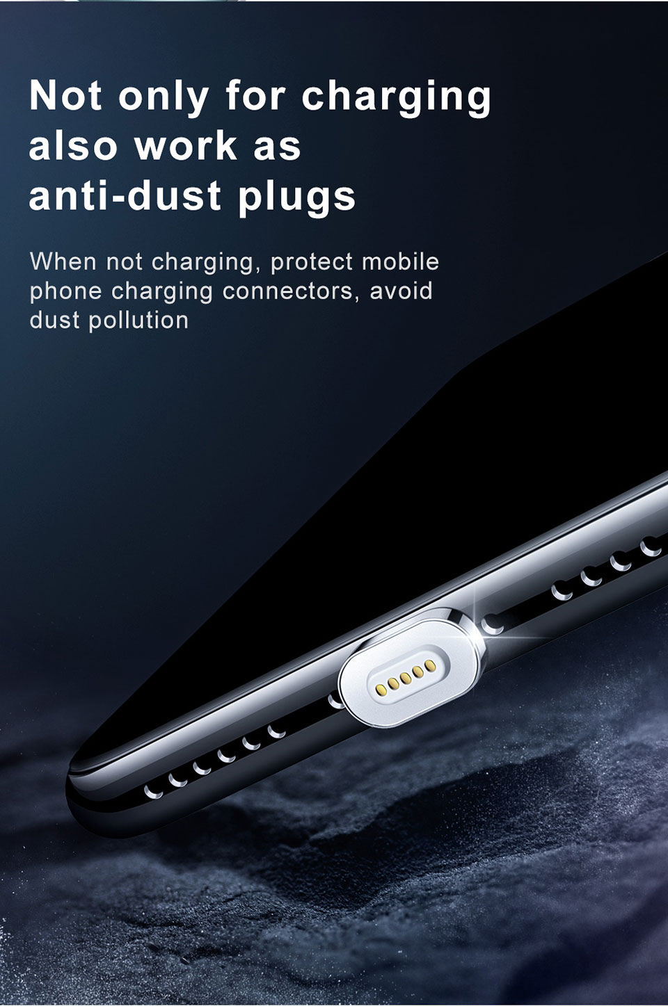Mcdodo 1.2M Magnetic Micro USB Fast Charge Data Cable for iPhone for Samsung Xiaomi