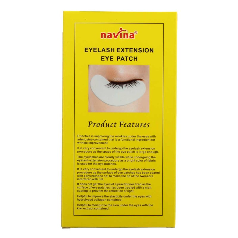 10 Pairs Under Eye Pad Patch Lint Eye Tips Sticker For Eyelash Extension Make Up Tools