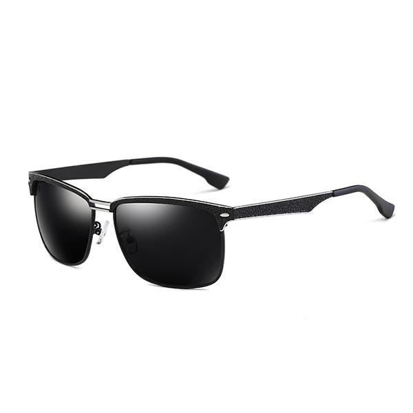 Men Retro Summer Anti-UV Polarized Sunglasses Classic Night Vison Driving Goggle