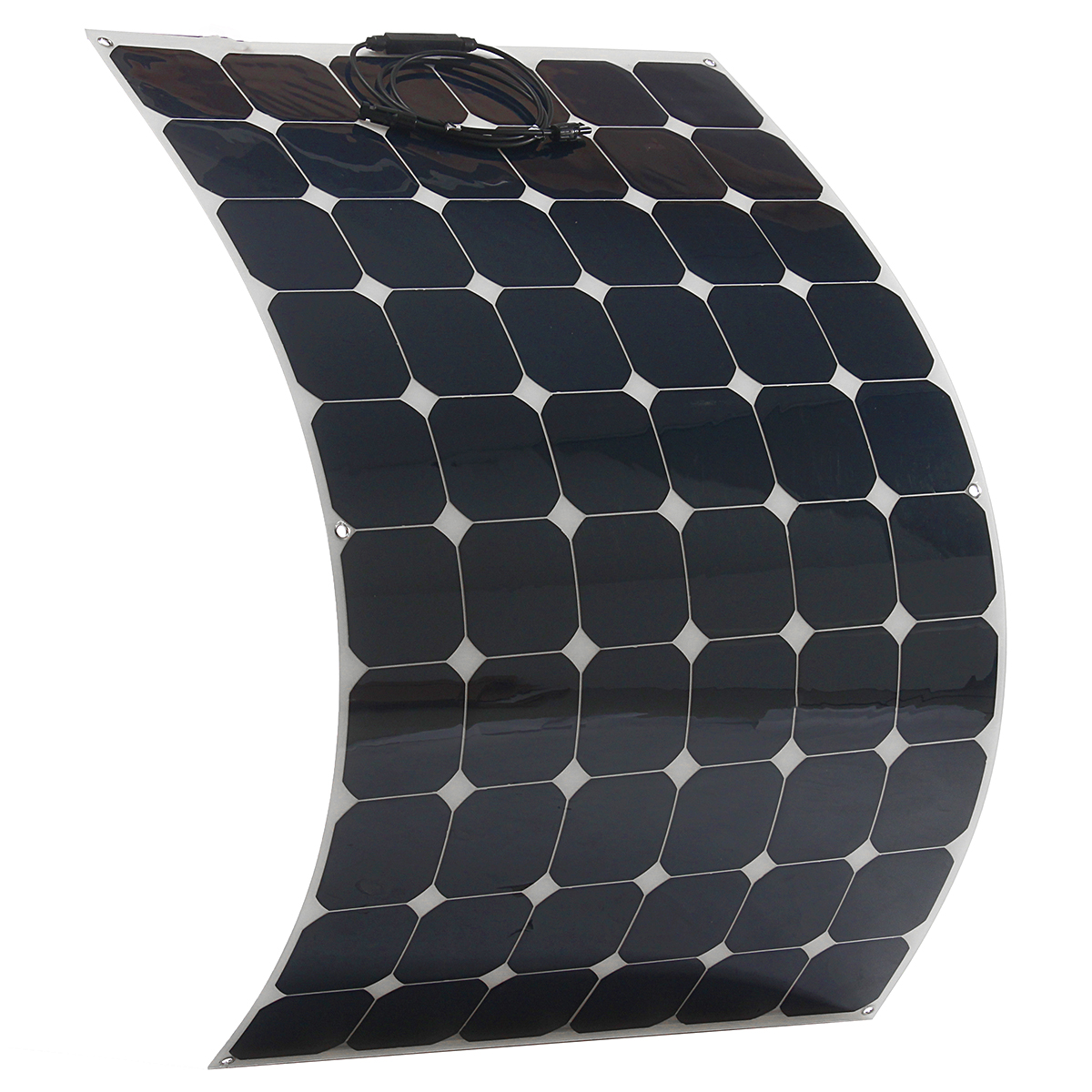 Elfeland SP-31 190W 33V Sunpower Flexible Solar Panel & 1.5m Cable For Home RV Boat