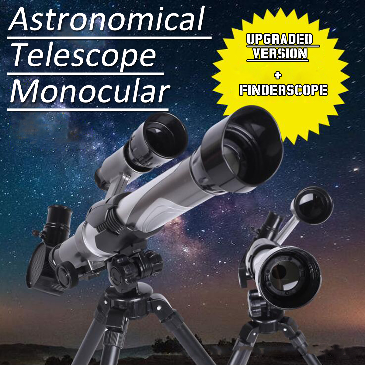 20-40X Astronomical Telescope Monocular Tripod Multi-purpose Bird Watching Monocular For Children