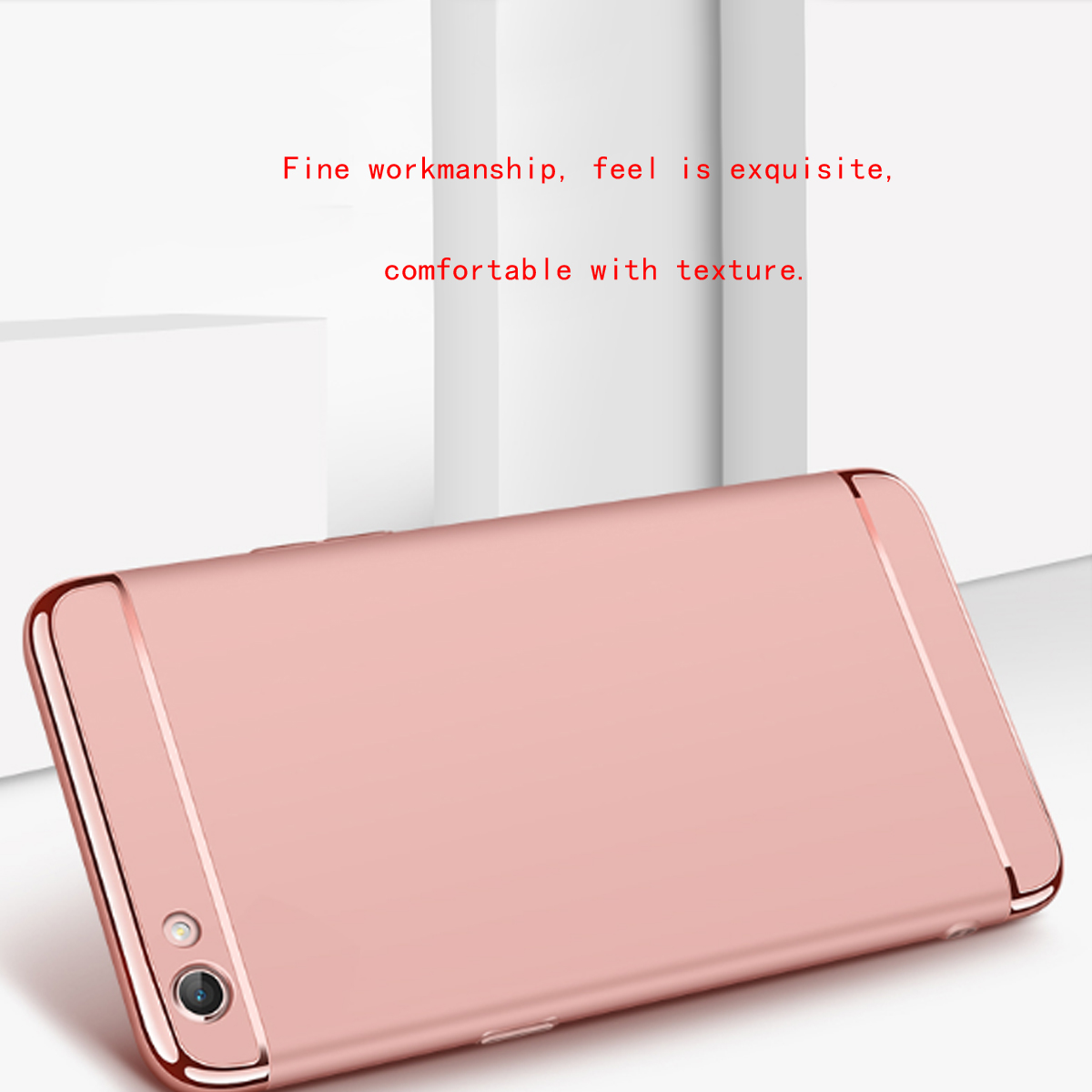 Fashion Plating Case Full Protector PC Cover For OPPO R9s