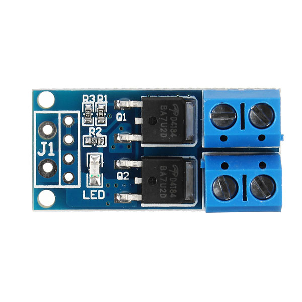 5Pcs MOS Trigger Switch Driver Module FET PWM Regulator High Power Electronic Switch Control Board