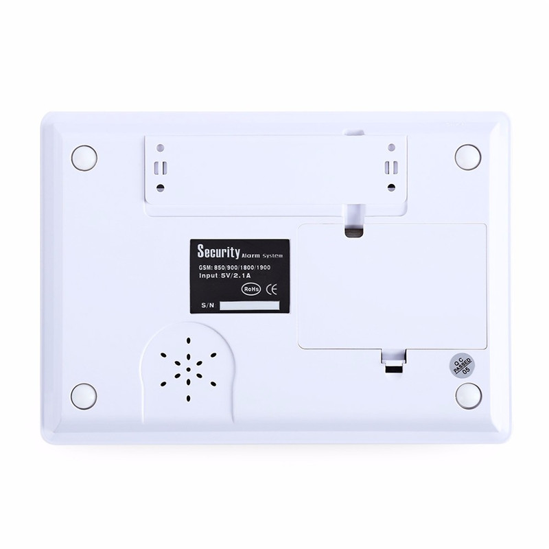 DY-G66B Wireless GSM RFID Intelligent Infrared Alarm Home Security Sensor Home Alarm System Intercom