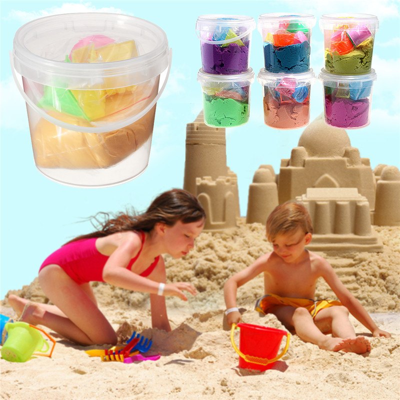 Non-Toxic Magic Motion Colorful Sand Toy Indoor Creative Craft Clay For Children Kids