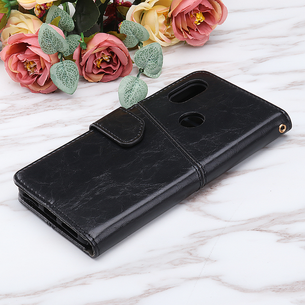 Bakeey Flip Card Slot With Stand PU Leather Case Protective Case For Xiaomi Redmi Note 6 Pro