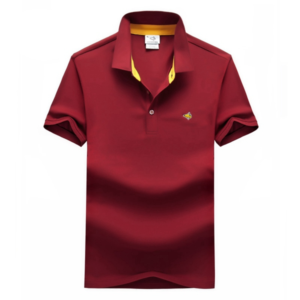 Button Summer Short Sleeve T-shirt Golf Shirt 6 Colors