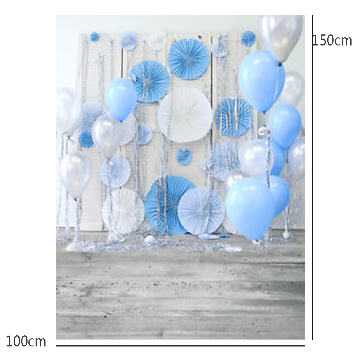 3x5ft Balloon Wall Baby Photography Vinyl Background Board Photo Studio Drops
