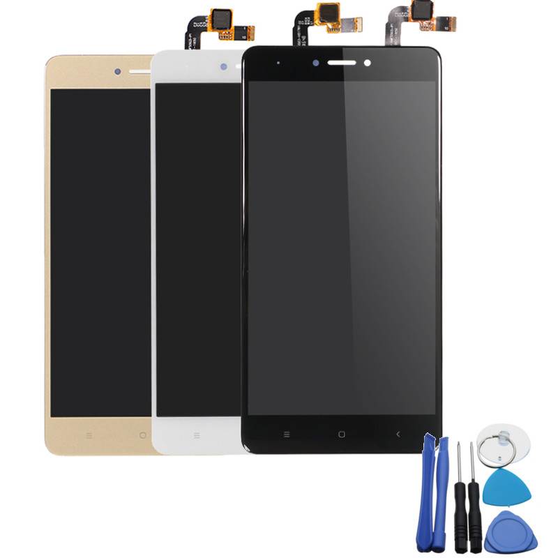 LCD Display+Touch Screen Digitizer Assembly Screen Replacement With Tools For Xiaomi Redmi Note 4X