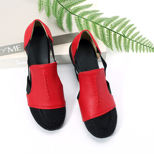 Breathable Elastic Soft Sole Sandals