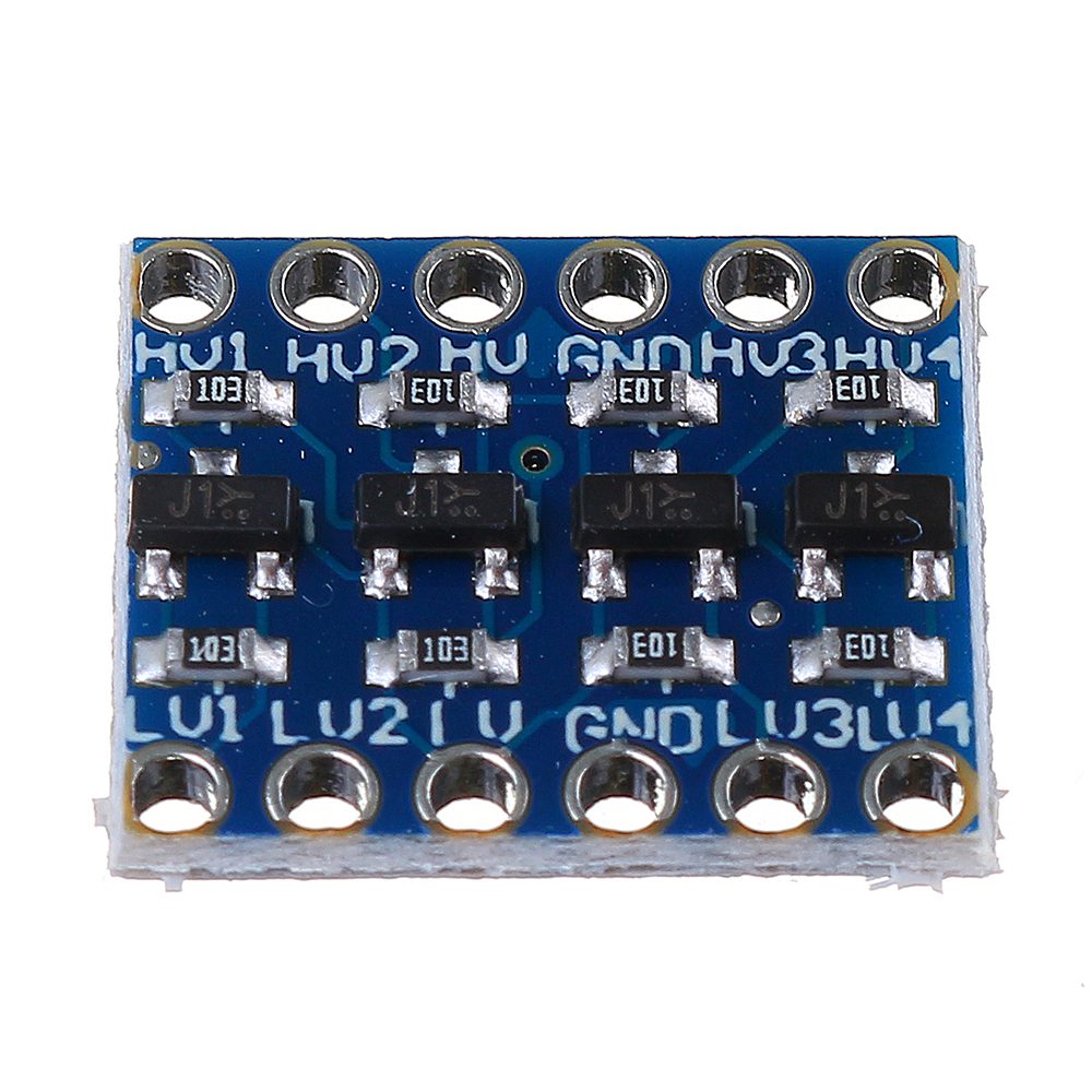 5Pcs Logic Level Converter Bi-Directional IIC 4 Way Level Conversion Module