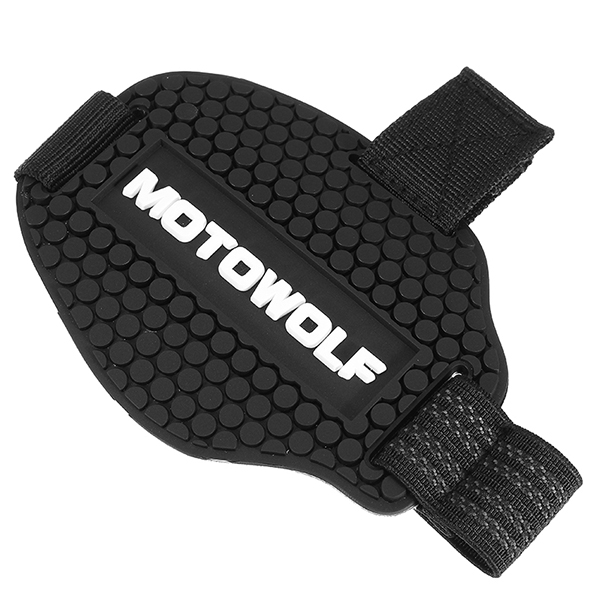 Motorcycle Shift Guard Boot Shoes Cover Protector Protective Gear Black