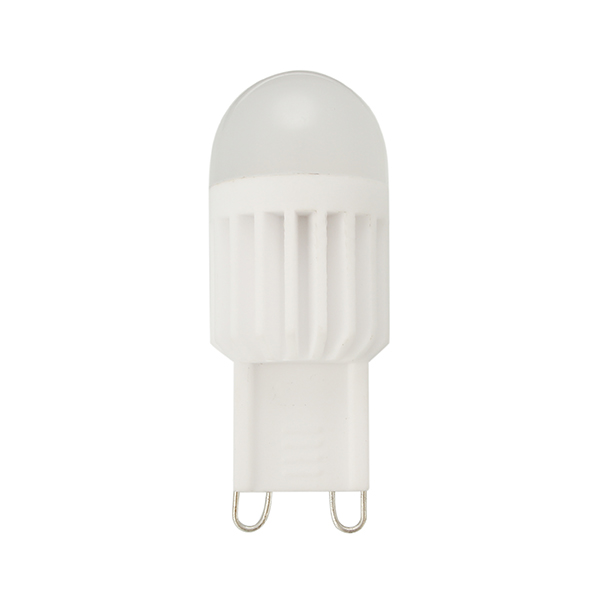 1X 5X ZX G9 3W 110V / 220V 5050 360 Degree LED keramische dimmable Birne LED-Beleuchtung-Lampe
