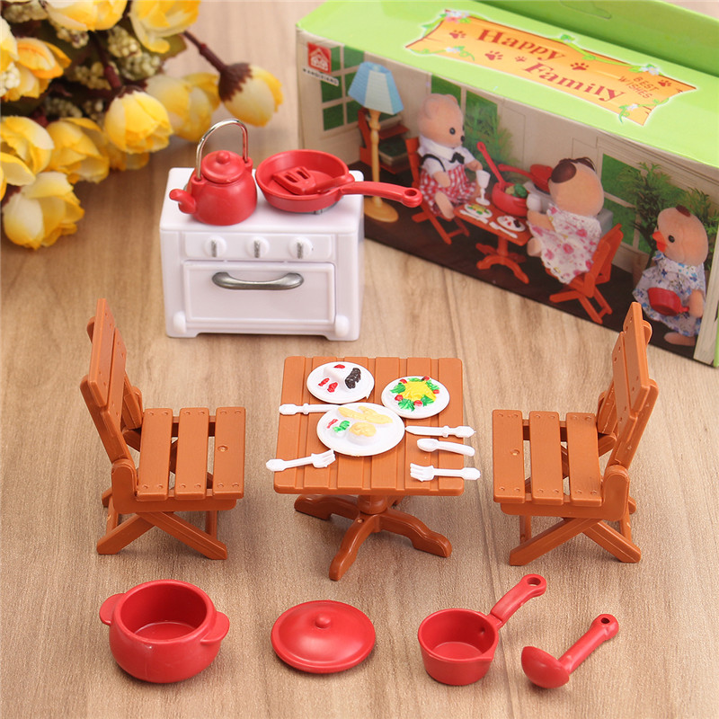 1:12 Simulation Picnic Set Play House Props Dollhouse Creative DIY Material