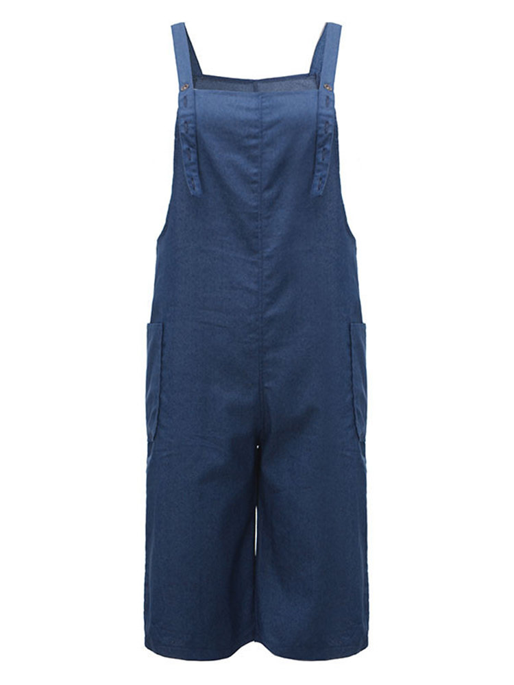 O-Newe Strap Pocket Jumpsuit