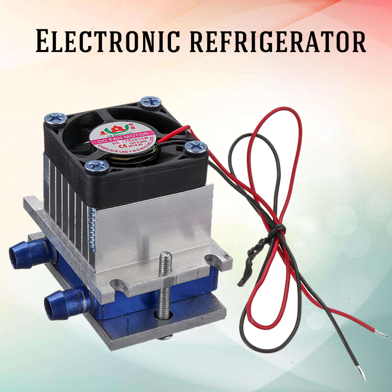 12V Thermoelectric Peltier Refrigeration Semiconductor Cooling Cooler Fan System Heatsink