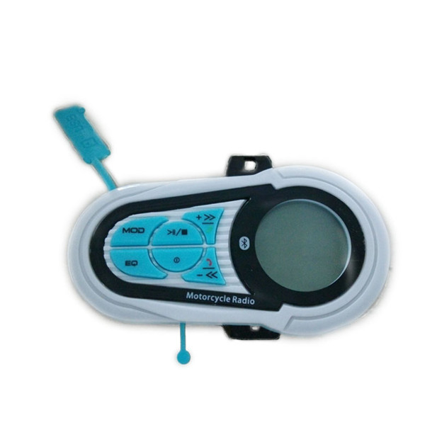 Motorcycle Mp3 Speaker With Three Half Inches Plating Red Blue black Horn