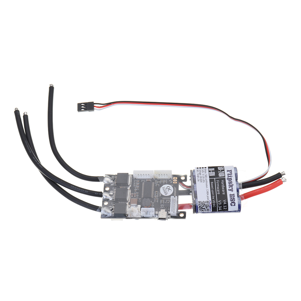 HGLRC-FLIPSKY FSVESC SK8-50A ESC Electronic Speed Control 5V/1.5A BEC for Electric Longboard RC Car - Photo: 3