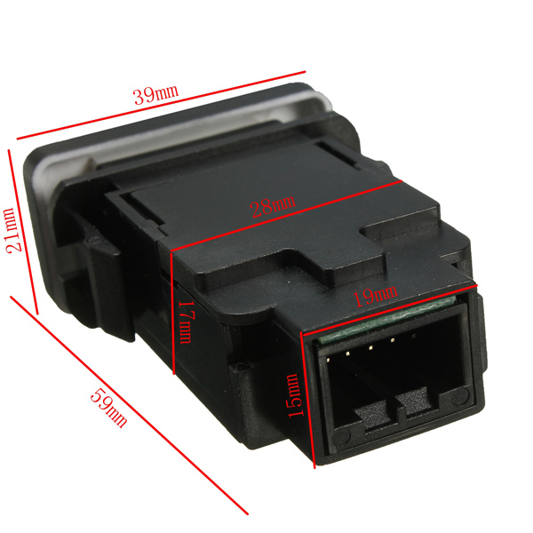12V LED Carling Rocker Switch For Toyota Land Cruiser Hilux Prado FJ CRUISE