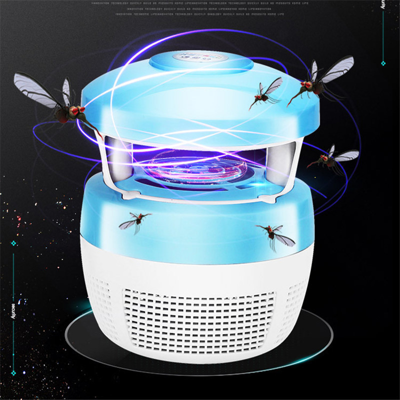 7W LED USB Mosquito Dispeller Repeller Mosquito Killer Lamp Bulb Electric Bug Insect Zapper Pest Trap Light Outdoor Camping